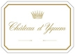 Château d'Yquem  Premier Cru Supérieur - label