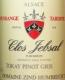 Domaine Zind-Humbrecht Jebsal Pinot Gris VT - label