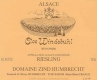 Domaine Zind-Humbrecht Windsbuhl Riesling - label