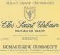 Domaine Zind-Humbrecht Clos Saint Urbain Rangen de Thann Riesling Grand Cru - label