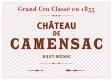 Château de Camensac  Cinquième Cru - label