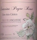 Domaine Peyre Rose Clos des Cistes - label