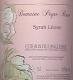Domaine Peyre Rose Syrah Léone - label