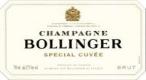 Bollinger Spécial Cuvée - label
