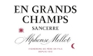 Alphonse Mellot En Grands Champs Rouge - label