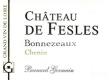 Château de Fesles  - label