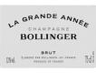 Bollinger Grande Année - label