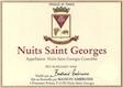 Maison Bertrand Ambroise Nuits-Saint-Georges  - label