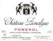 Château Bonalgue  - label