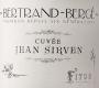 Domaine Bertrand-Bergé Cuvée Jean Sirven - label