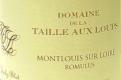 Domaine de la Taille aux Loups Romulus - label