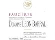 Domaine Léon Barral Valinière - label