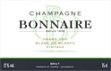 Bonnaire Blanc de Blancs Grand Cru - label