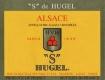 Hugel et Fils Gewürztraminer S SGN - label