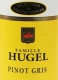 Hugel et Fils Pinot Gris Hugel SGN - label