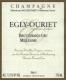 Egly-Ouriet Brut Millesimé Grand Cru - label