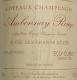 Egly-Ouriet Ambonnay Cuvée des Grands Côtes Vieilles Vignes - label