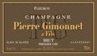 Pierre Gimonnet et Fils Fleuron Brut Blanc de Blancs Premier Cru - label