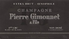 Pierre Gimonnet et Fils Oenophile Extra Brut Premier Cru - label