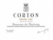 Domaine Bonneau du Martray Corton Grand Cru  - label