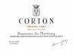 Domaine Bonneau du Martray Corton Grand Cru  - label