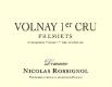 Domaine Nicolas Rossignol Volnay Premier Cru Frémiets - label