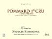 Domaine Nicolas Rossignol Pommard Premier Cru Les Chaponnières - label