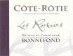 Domaine Patrick et Christophe Bonnefond Côte Rôtie Les Rochains - label