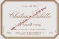 Château Gilette Crème de Tête - label