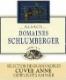 Domaine Schlumberger Cuvée Ernest Riesling SGN Grand Cru - label