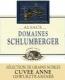 Domaine Schlumberger Cuvée Anne Gewürztraminer SGN Grand Cru - label