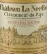 Château La Nerthe Châteauneuf-du-Pape Cuvée des Cadettes - label