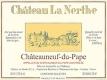 Château La Nerthe Châteauneuf-du-Pape Blanc - label