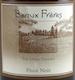 Beaux Frères The Upper Terrace Pinot Noir - label