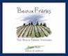 Beaux Frères The Beaux Frères Vineyard Pinot Noir - label