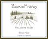 Beaux Frères Pinot Noir - label