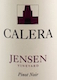 Calera Jensen Vineyard Pinot Noir - label