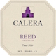 Calera Reed Vineyard Pinot Noir - label