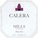 Calera Mills Vineyard Pinot Noir - label