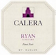 Calera Ryan Vineyard Pinot Noir - label