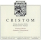 Cristom Jessie Vineyard Pinot Noir - label