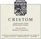 Cristom Eileen Vineyard Pinot Noir - label