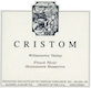 Cristom Sommers Reserve Pinot Noir - label