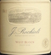 Rochioli Vineyards and Winery West Block Pinot Noir - label