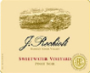 Rochioli Vineyards and Winery Sweetwater Vineyard Pinot Noir - label