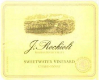 Rochioli Vineyards and Winery Sweetwater Vineyard Chardonnay - label