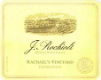 Rochioli Vineyards and Winery Rachel's Chardonnay - label
