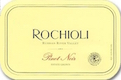 Rochioli Vineyards and Winery Estate Pinot Noir - label
