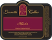 Leonetti Cellars Merlot - label