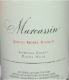 Marcassin Bondi Home Ranch Pinot Noir - label